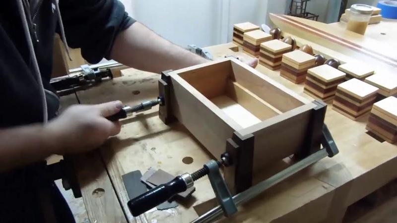 Изготовление шкатулок в гаражной мастерской