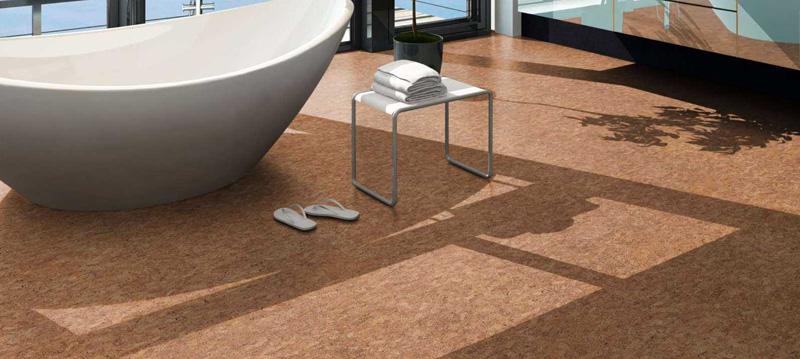 При правильной обработке покрытие можно использовать даже в ванной комнате