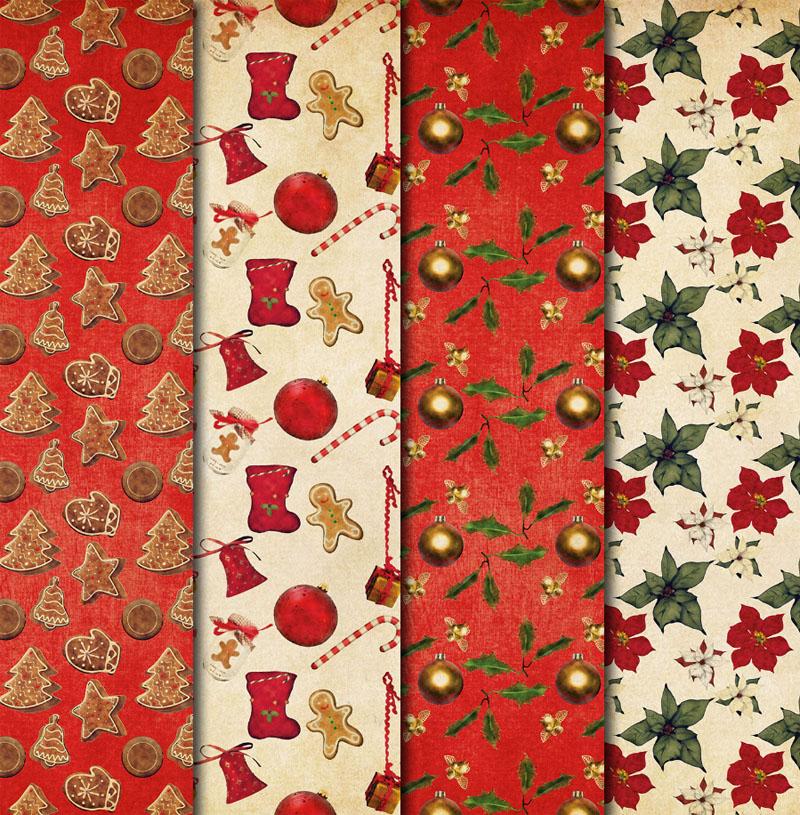 Можно купить специальные наборы бумагискрапбукингав новогодней тематике