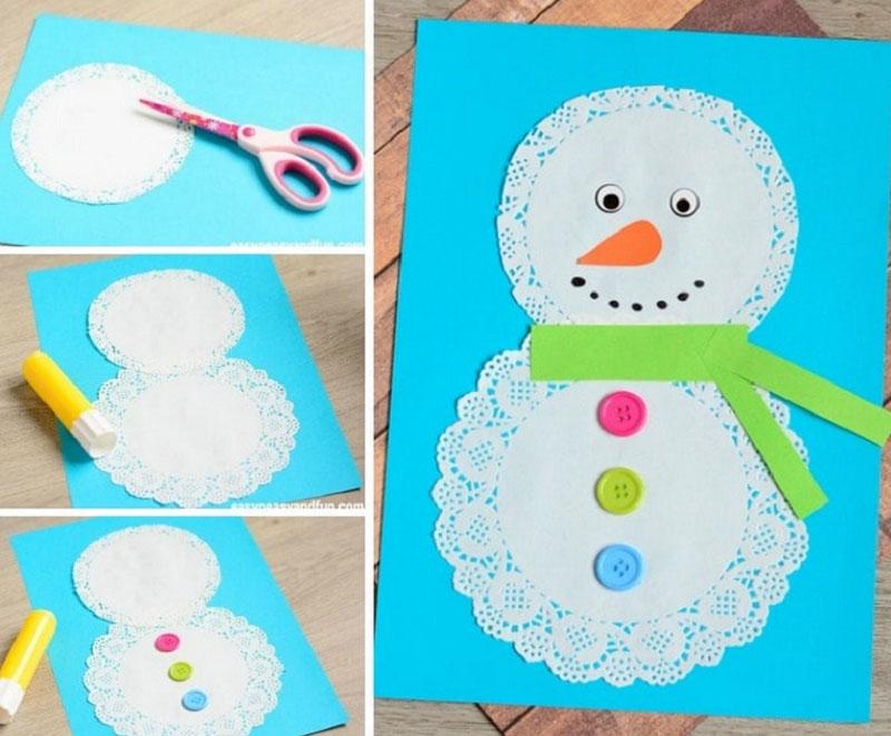 Такую поделку малыш может сделать в подарок бабушкам и дедушкам