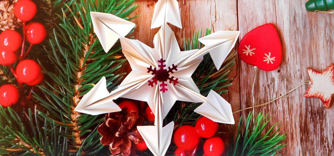 Снежинки и звездочки из бумаги к Новому году