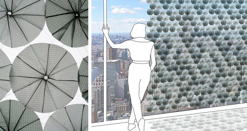 Строение светоблокирующего фасада