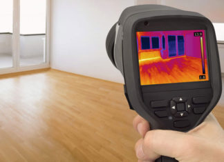 Тепловизор для обследования зданий и сооружений