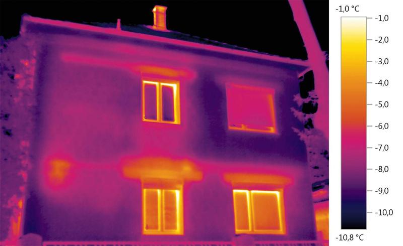 Термограмма — это своеобразный отчет от тепловизора, на котором можно температуру определенных зон в зависимости от его цвета