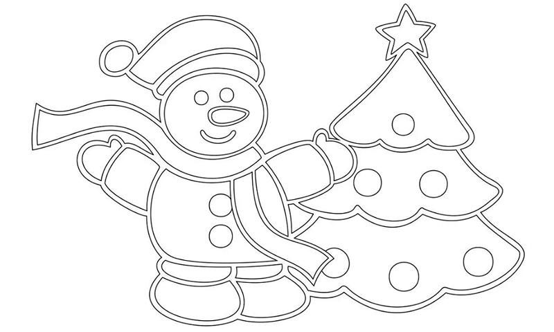 Ну скажите, как стоять в сторонке, если тебе приветливо улыбается вот такой вот замечательный снеговик!