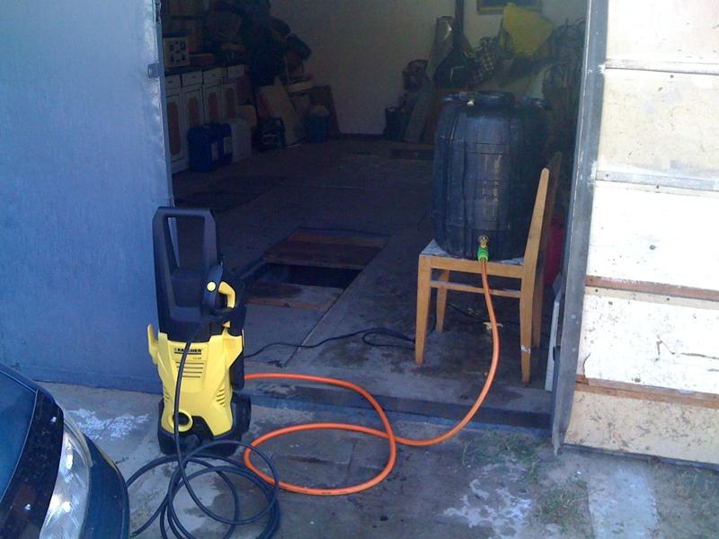 Автомойка в гараже без водопровода тоже возможна