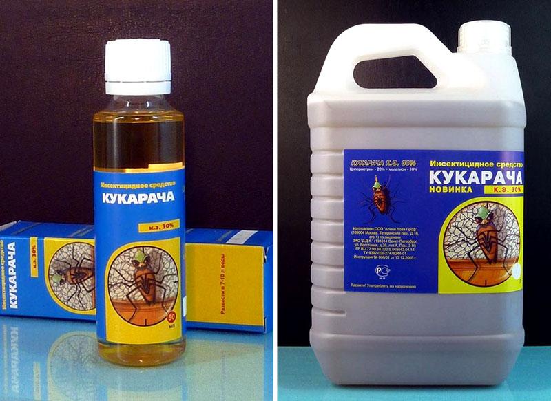 «Кукарача» действует мощно, одного 50-мл флакона хватает на обработку помещений около 100 м²