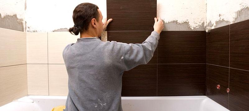 Плитка – традиционный материал для отделки стен