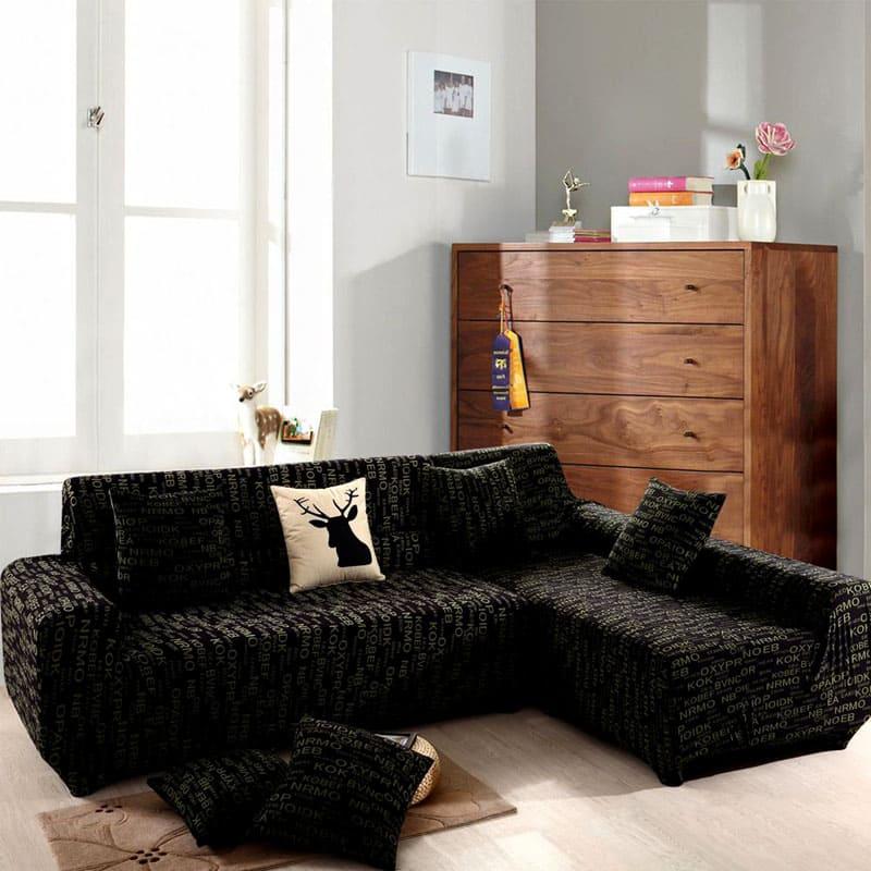 chehol-na-uglovoy-divan-3 Как сшить чехол на диван своими руками: выкройки и пошив универсального чехла