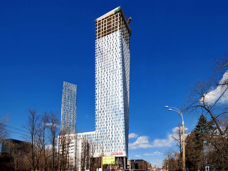 Просторная квартира на 51 этаже в Башне «Федерация» на Мосфильмовской улице в Москве