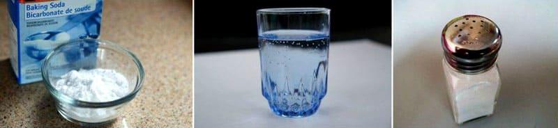 Составы из соли и порошка соды неэффективны в борьбе с паразитами