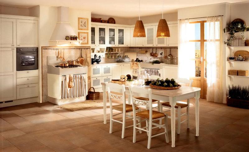 Целесообразно использовать тканевые занавески на комодах, духовках или прикрыть ими дверцу посудомоечной машины