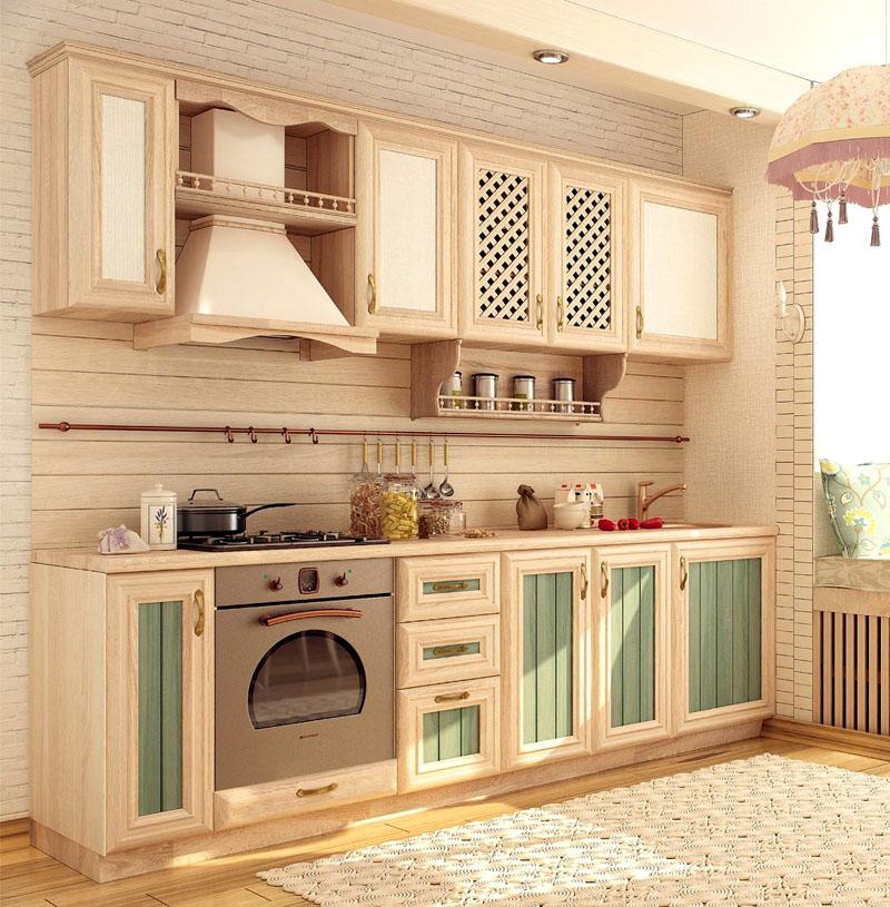 Цвет кухни должен ассоциироваться с чем-то естественным и неброским