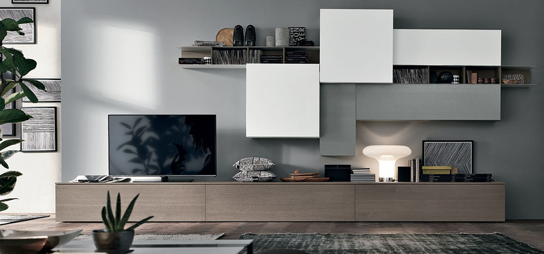 Модульная мебель для гостиной в современном стиле