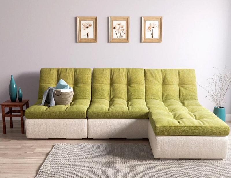 Мини-кресла могут использоваться как элемент модульной конструкции