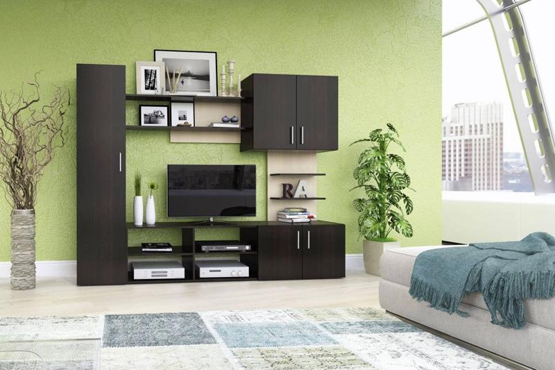 Перед покупкой конкретного мебельного комплекта заранее изучите его функционал. Продумывайте подбор элементов на перспективу