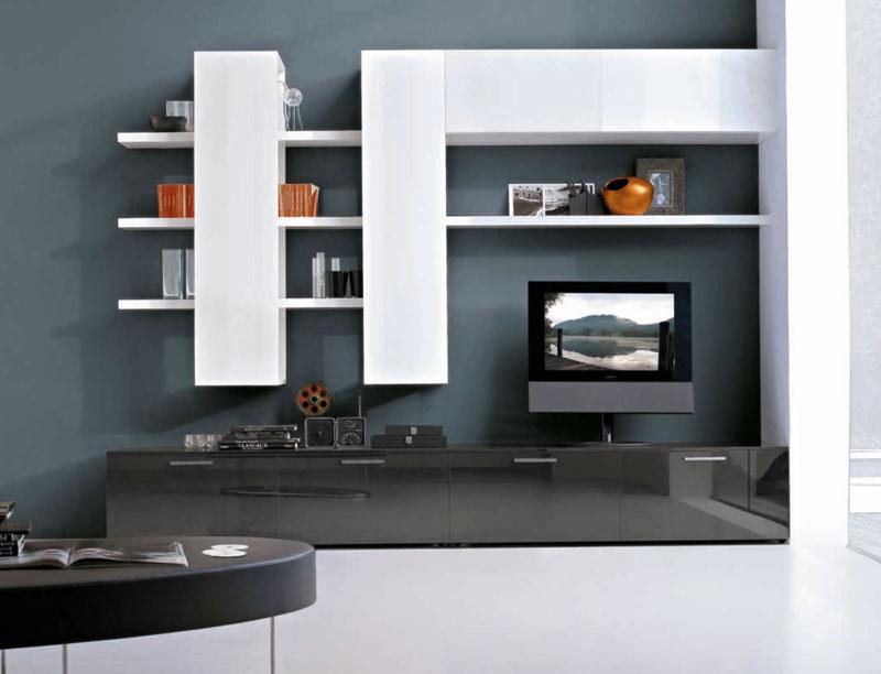 Модерн отличается неожиданными вариациями цветов, броскими и нестандартными решениями