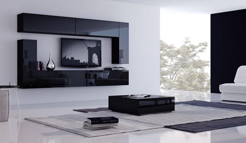 Хай-тек – отличается присутствием металла, стекла и белого тона