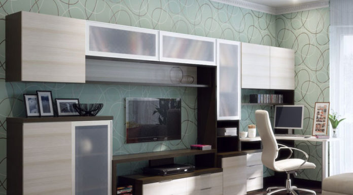 🗄 Модульная мебель для гостиной в современном стиле: фото в интерьере