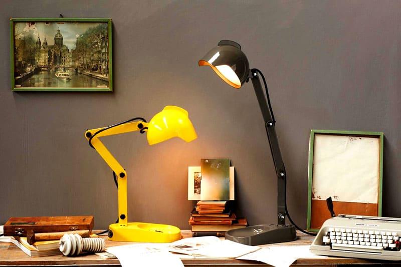Рабочие светильники выглядят совсем не так, как классические