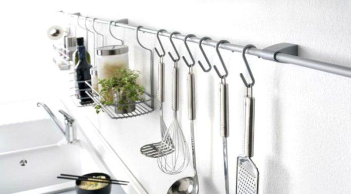 Рейлинги для кухни: что это такое, как правильно выбрать
