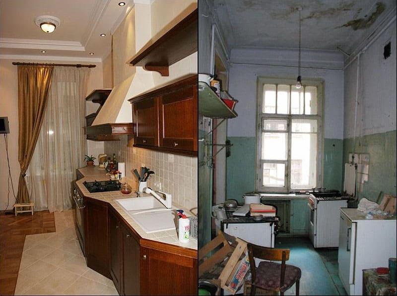 Ремонт в хрущёвке: фото «до» и «после»