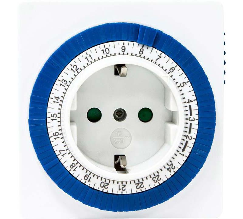 Механические модели позволяют установить время вручную, физически зафиксировав сегменты