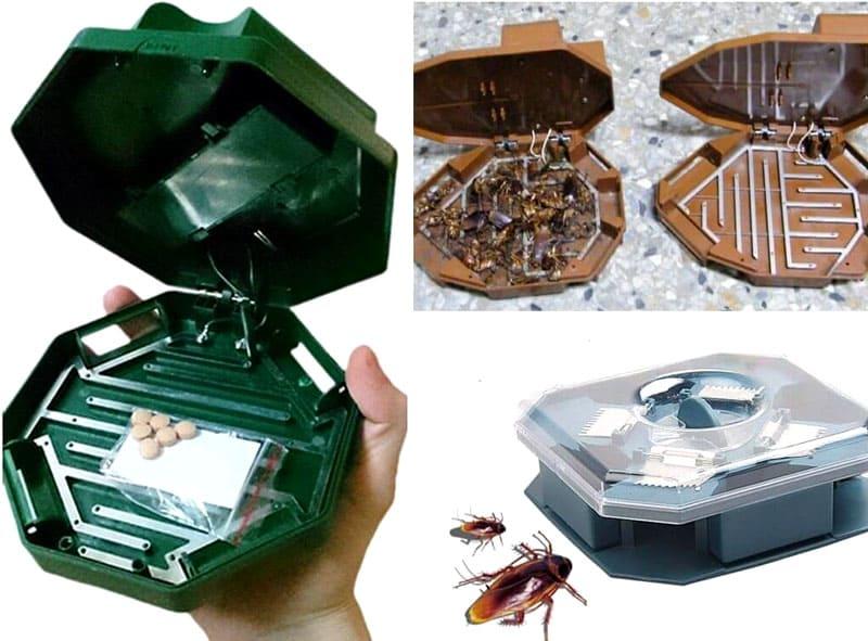 Принцип действия ловушек против тараканов