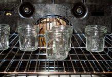 Стерилизации банок в духовке
