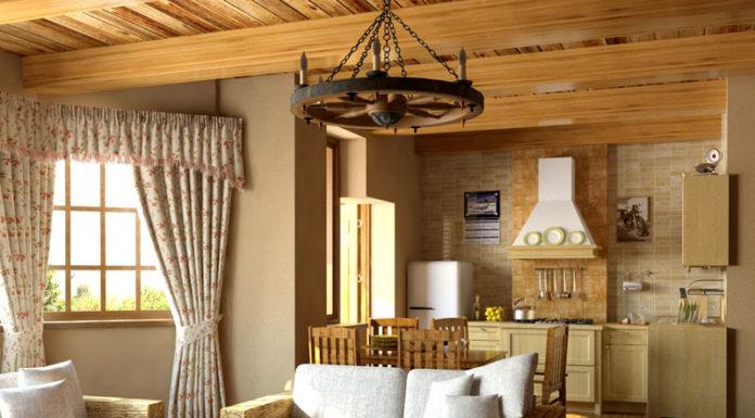 Деревенское очарование стиля кантри: фотопримеры оформления интерьера