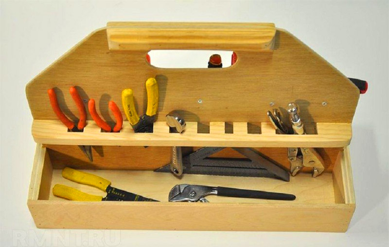 Фанерный органайзер для инструментов