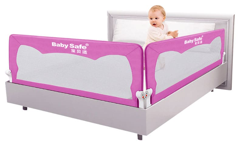 Эти бортики вы можете установить даже на свою кровать, если ребёнок спит с вами