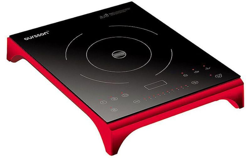 Стильный дизайн индукционной плитки производителя «Oursson»