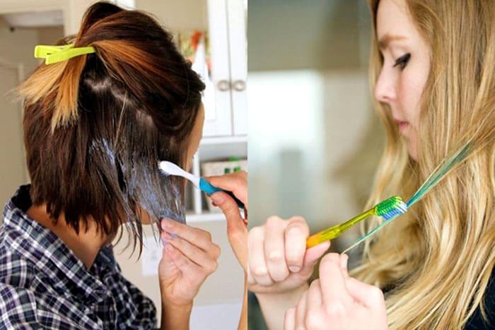 Женщины, которые окрашивают волосы в домашних условиях, тоже смогут оценить качество работы щетины — она отлично прокрашивает корни