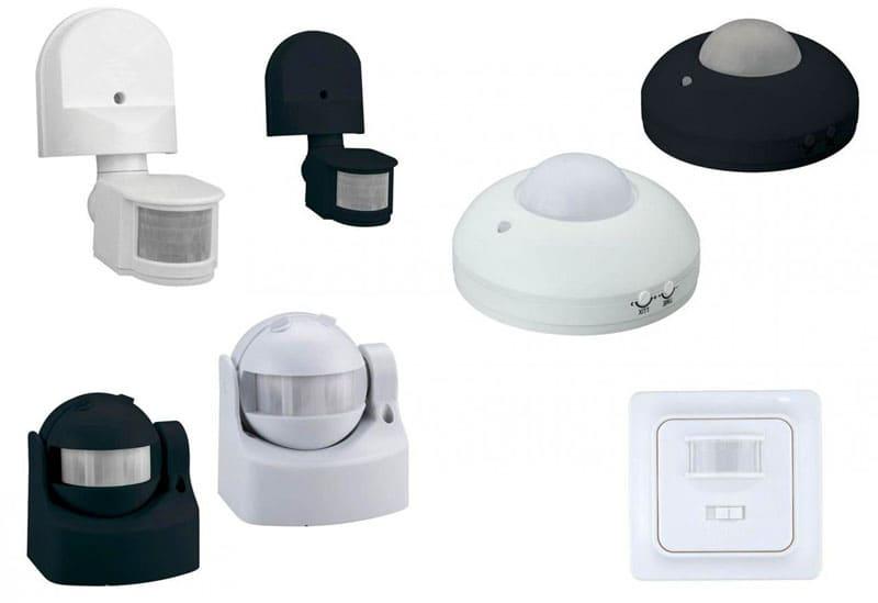 Существует несколько видов ДД управления светом