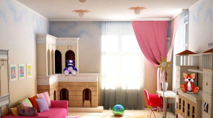 Дизайн детских комнат для девочек: 70 оригинальных фото и советы по оформлению