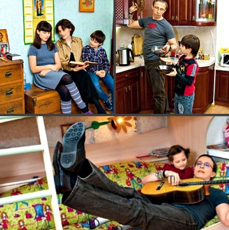 Семейный быт в новом доме