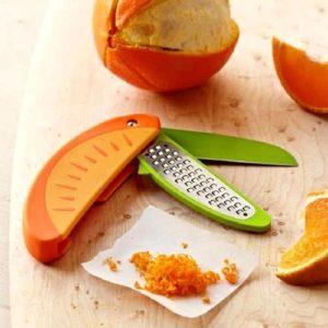 Нож-терка 3 в 1 для цитрусовых