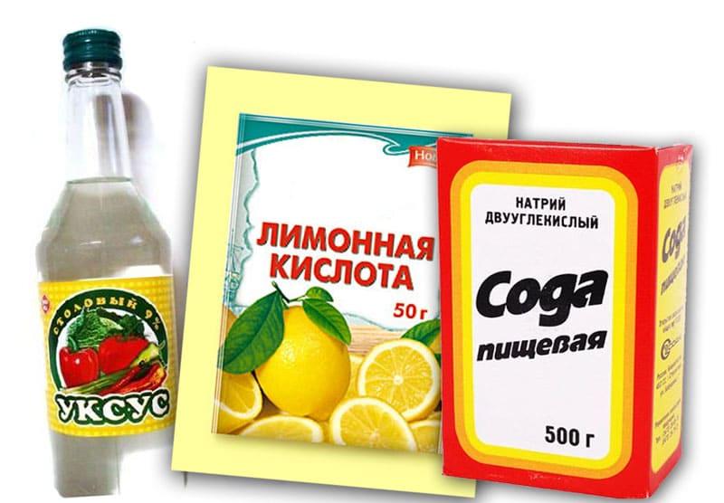Лимонка с уксусом и содой – незаменимые помощники на кухне