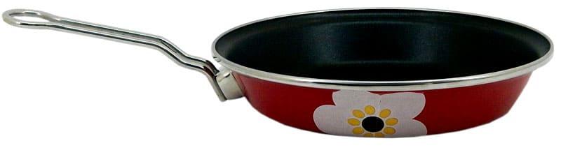 Сковородка с эмалированным покрытием