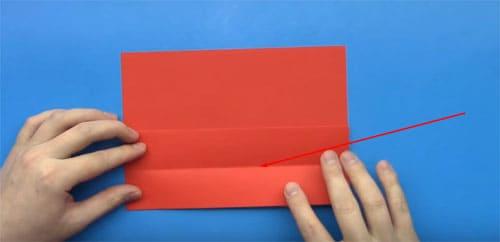 kak-sdelat-konvert-iz-bumagi-formata-A4-7 Как сделать конверт из А4: своими руками поэтапно, для письма без клея и ножниц, большой и маленький, фото и видео