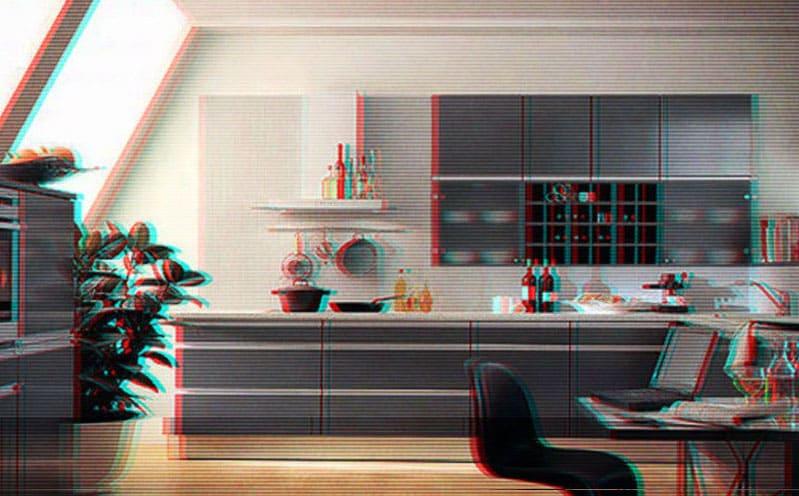 Кухни в стиле хай-тек: дизайн, фото