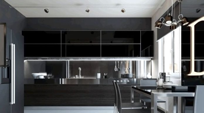 Кухни в стиле хай-тек: 65 фото и особенности дизайна 2019 года