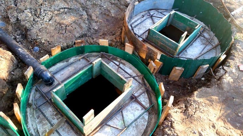 Обычная выгребная яма – простейшая канализация