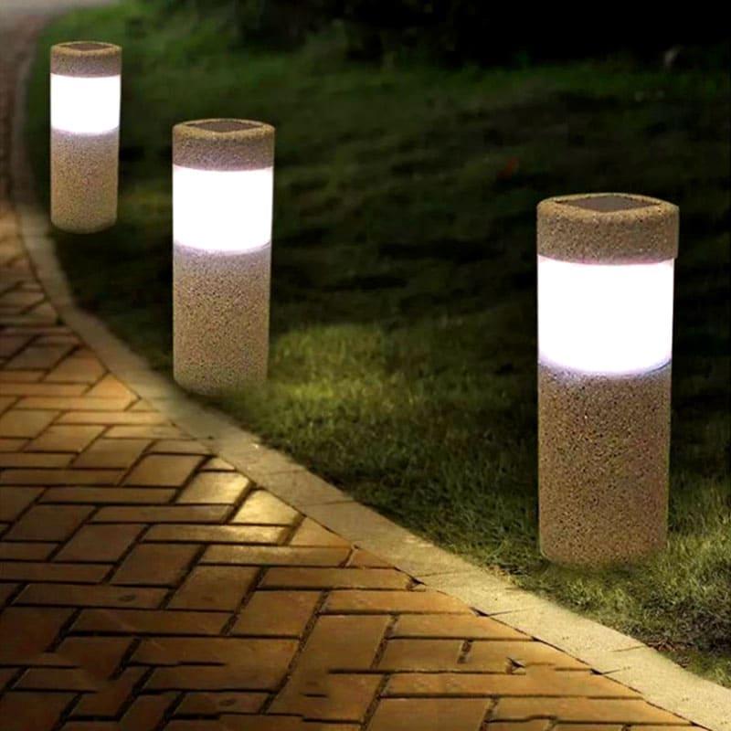 Эти лампы не нужно подключать к электросети – они работают от солнечной энергии