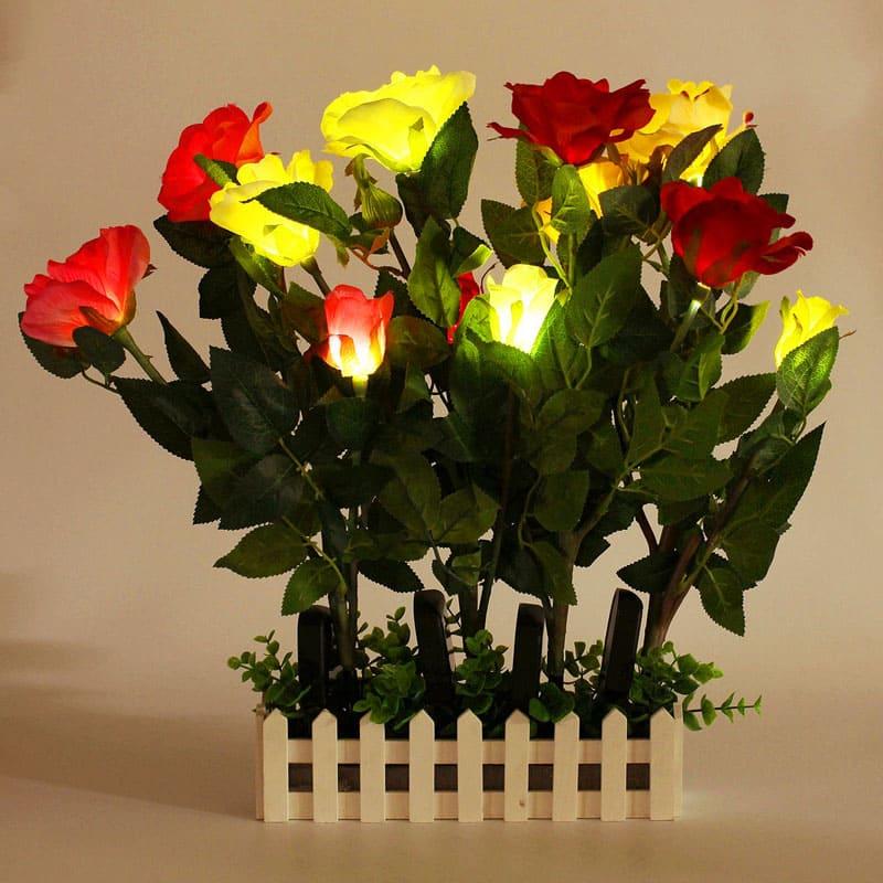 Если украсить клумбу или дорожку такими цветами, ночью вы просто не оторвёте от них глаз