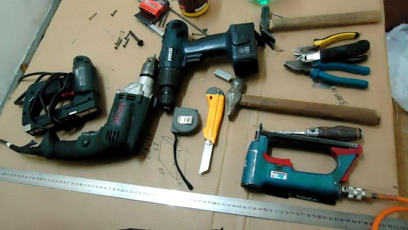 Инструмент для ремонта мебели