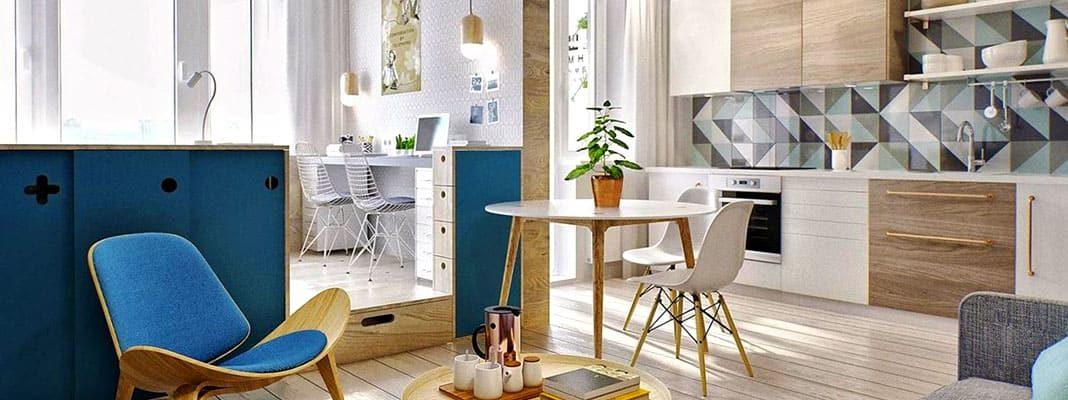 Преимущества маленькой квартиры