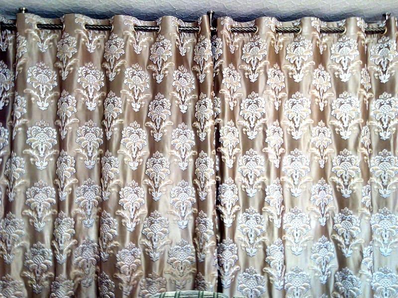 Жаккардовые шторы