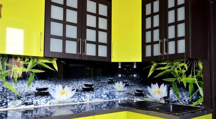 Скинали из стекла для кухни: роскошные решения для изысканного интерьера